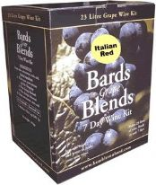 Bards Grape Blends 7-Day Italian Red Wine Kit